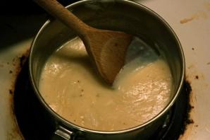 Пирог с лисичками и сыром - фото шаг 6