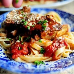 Рёбрышки в томатном соусе - фото шаг 18