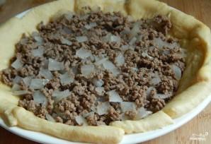 Заливной пирог с мясом и картошкой - фото шаг 2