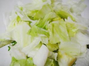 Мексиканский салат с фасолью - фото шаг 5