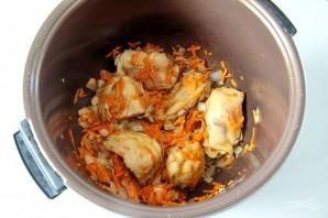 Курица с рисом и фасолью - фото шаг 3