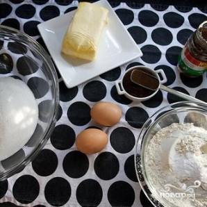 Печенье с фундуком и эспрессо - фото шаг 1