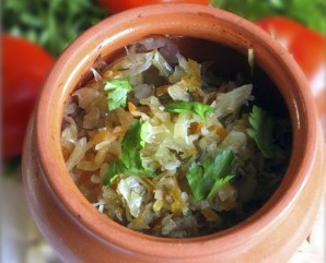 Картофель в горшочках в духовке - фото шаг 11