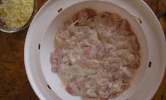 Картошка с курицей в пароварке - фото шаг 3