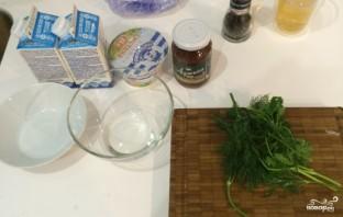 Белый соус для шаурмы - фото шаг 1