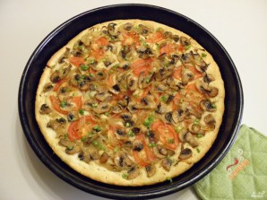 Постная пицца - фото шаг 11