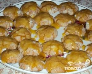 Глазурированное апельсиновое печенье - фото шаг 5