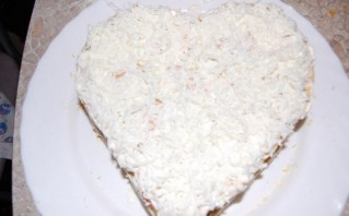 Закусочный торт из слоеного теста - фото шаг 11