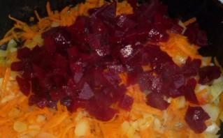 Борщ вегетарианский с фасолью - фото шаг 2