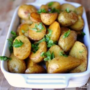 Пряный картофель по-французски - фото шаг 11