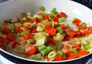 Картофельный суп с ветчиной - фото шаг 3