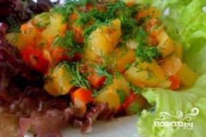 Картофель тушеный с кабачками - фото шаг 10