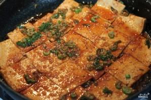 Припущенный тофу - фото шаг 7