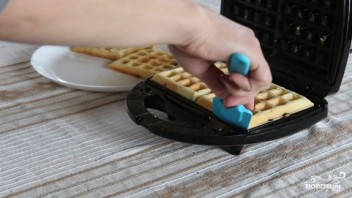 Венские вафли для электровафельницы - фото шаг 6