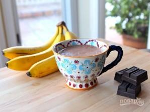 Горячий шоколад с бананом - фото шаг 4