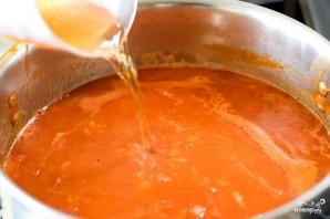 Томатный суп с фасолью - фото шаг 5