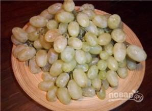 Варенье из белого винограда с косточками - фото шаг 1
