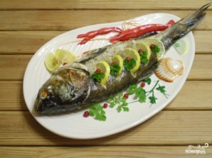 Рыба в духовке со сметаной - фото шаг 7