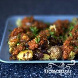 Картофель с соусом чили - фото шаг 7