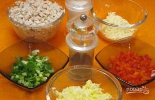 Салат с молоками лососевых рыб - фото шаг 1
