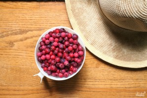 Постный пирог с ягодами - фото шаг 1