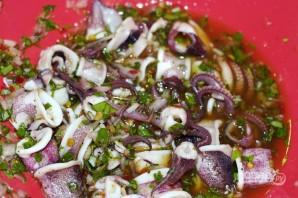 Салат из кальмара - фото шаг 5