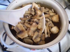 Салат с картошкой и грибами - фото шаг 2