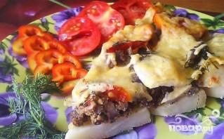 Картофельная запеканка с фаршем и сыром - фото шаг 6