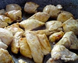 Салат из индейки с апельсинами - фото шаг 5