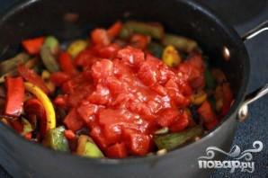 Колбаса с болгарским перцем и луком - фото шаг 5