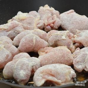 Филе цыплят с сыром и ананасом - фото шаг 7