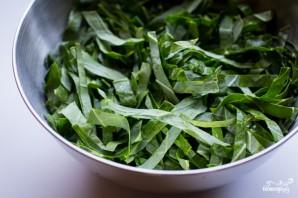 Гарнир из листовой капусты - фото шаг 1