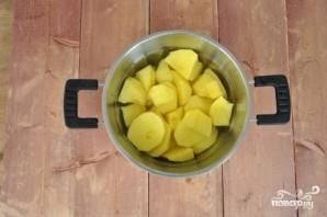 Картофельная запеканка с овощами - фото шаг 1