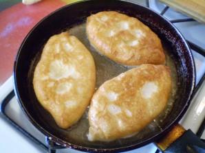 Пирожки постные с грибами - фото шаг 14