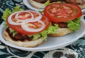 Гамбургеры на мангале - фото шаг 5