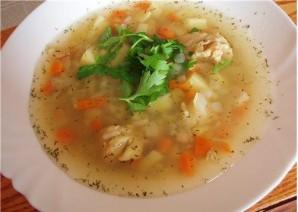 Суп рыбный с рисом - фото шаг 5