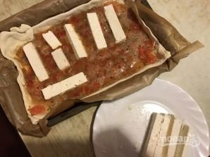Пирог с томатами и фетой - фото шаг 7