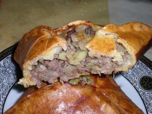 Татарские пирожки с мясом - фото шаг 10