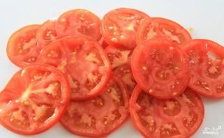 Баклажаны с моцареллой и помидорами - фото шаг 4