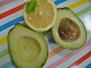 Дип из авокадо - фото шаг 2