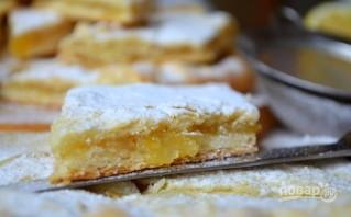 Лимонный пирог из дрожжевого теста - фото шаг 19