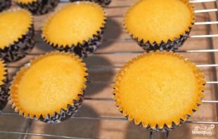 Лимонные капкейки - фото шаг 4
