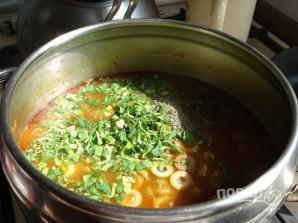 Томатный суп с бараниной - фото шаг 8