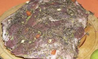 Буженина из свинины в духовке - фото шаг 3