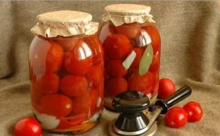Засолка помидоров с луком на зиму - фото шаг 4