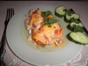 Курица с сыром и помидорами - фото шаг 6