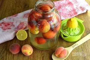 Персиковый компот на зиму - фото шаг 3