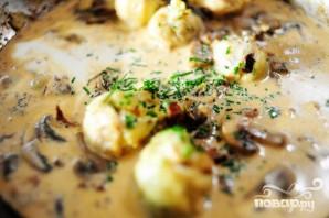 Курица с грибами и артишоками - фото шаг 11