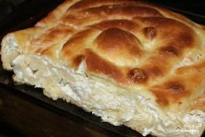 Болгарский пирог с сыром - фото шаг 5