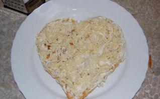 Закусочный торт из слоеного теста - фото шаг 4
